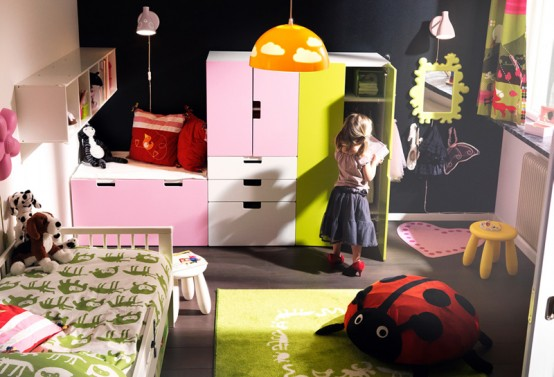 id es d co de chambres d 39 enfants du catalogue ikea 2011. Black Bedroom Furniture Sets. Home Design Ideas