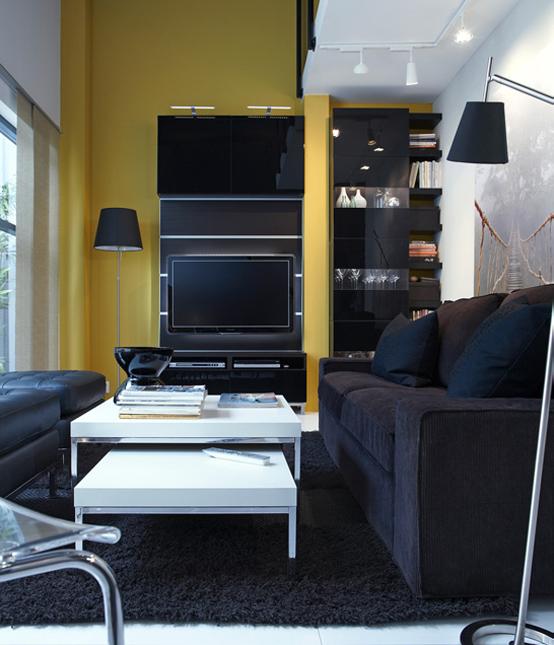 Id es d co pour votre salon du catalogue ikea 2011 for Catalogue deco salon