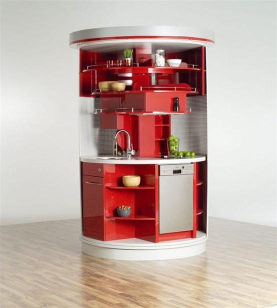 Cuisines compact et design pour petits espaces for Cuisine design pour petit espace
