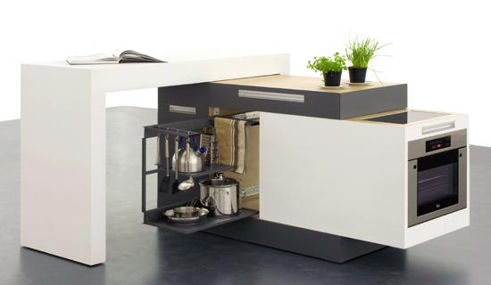 cuisine modulaire design. Black Bedroom Furniture Sets. Home Design Ideas