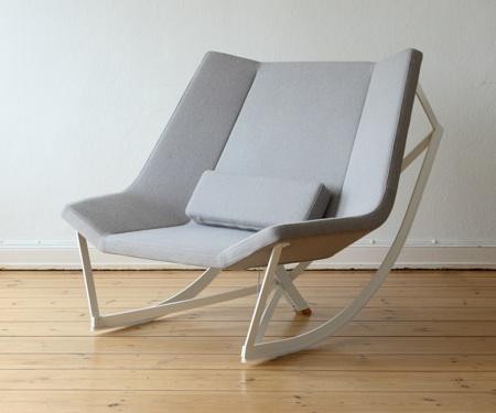 rocking chair design confortable et modulable. Black Bedroom Furniture Sets. Home Design Ideas