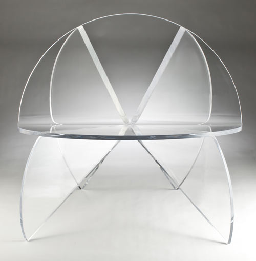 la butterfly chaise de laurie beckerman. Black Bedroom Furniture Sets. Home Design Ideas