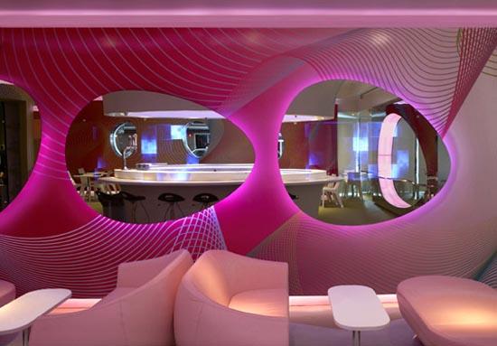 Decoration moderne restaurant