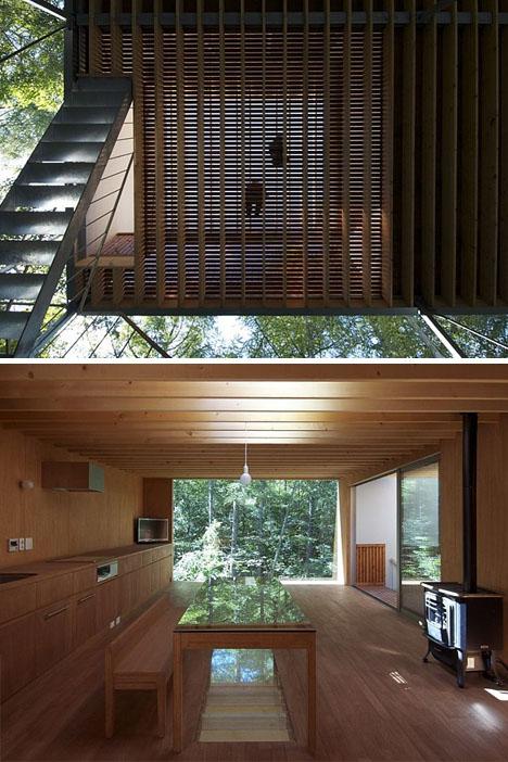 Interieur loft bois for Loft interieur