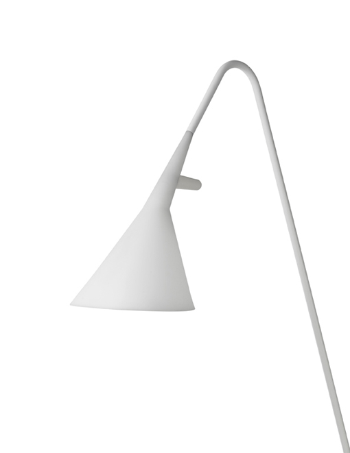 Lampe blanche jardin for Lampe exterieur blanche
