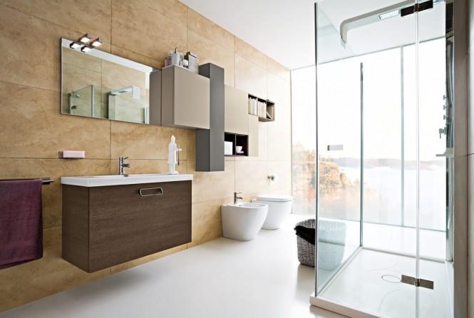 Salle de bain douche for Articles salle de bain design