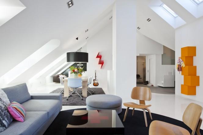 amenagement appartement combles. Black Bedroom Furniture Sets. Home Design Ideas