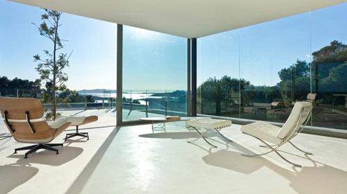 baies vitrees villa. Black Bedroom Furniture Sets. Home Design Ideas