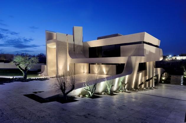 La derni re cr ation des architectes de chez a cero - Maison design foret kube architecture ...
