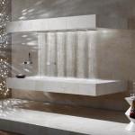 douche horizontale design. Black Bedroom Furniture Sets. Home Design Ideas