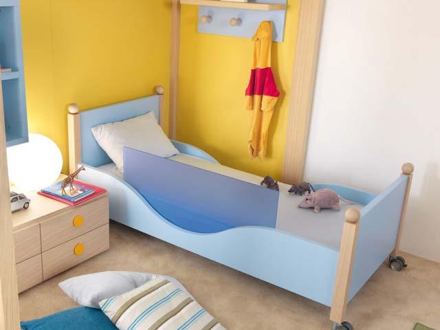 Chambre enfant dearkids jaune et bleue - Chambre enfant jaune ...