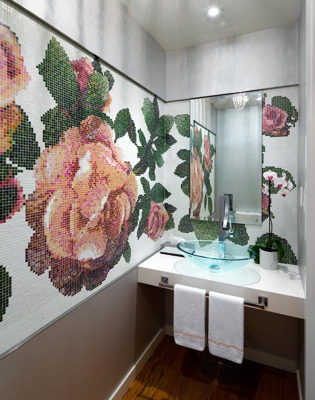 Idees Mosaiques Image : Idées de décoration avec des carreaux mosaïques