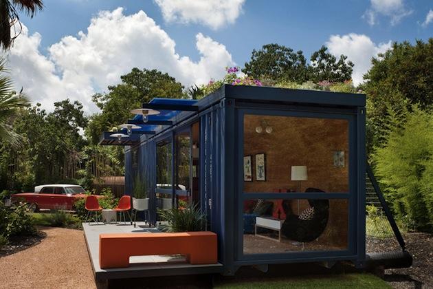 Construire sa maison avec des containers recyclés