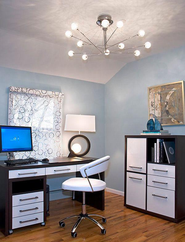 bureau lumineux attractif