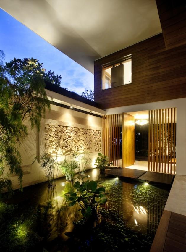 Maison avec toit v g talis for Maison avec toit vegetal