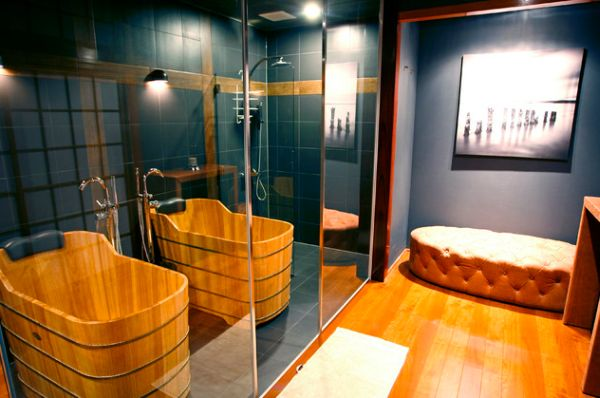 Best Salle De Bain Orange Et Bois Pictures - House Design ...