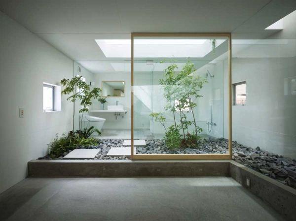 salle de bain zen. Black Bedroom Furniture Sets. Home Design Ideas