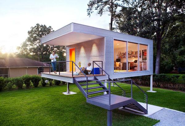 cr er son bureau domicile dans son jardin. Black Bedroom Furniture Sets. Home Design Ideas