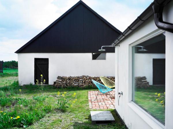Douche exterieur luxe6 for Douche exterieur design