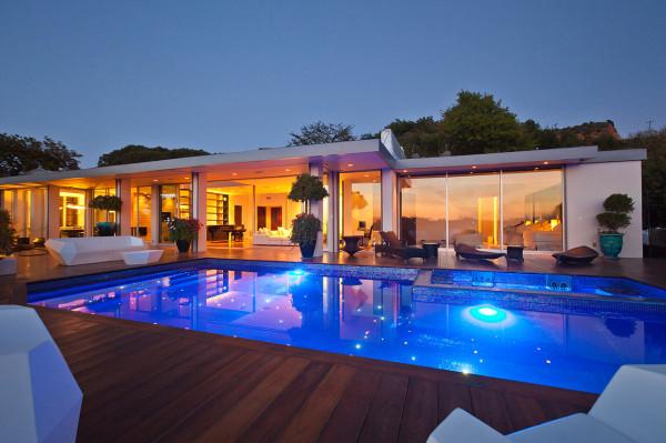 R am nagement d 39 une maison beverly hills - Villa dei sogni piscina ...