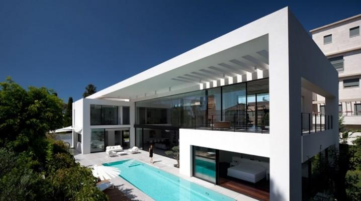 Maison moderne en Israel