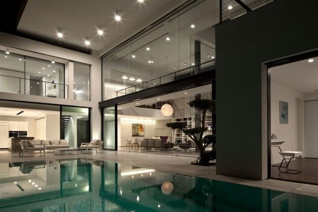 Maison moderne en israel for Style maison contemporaine