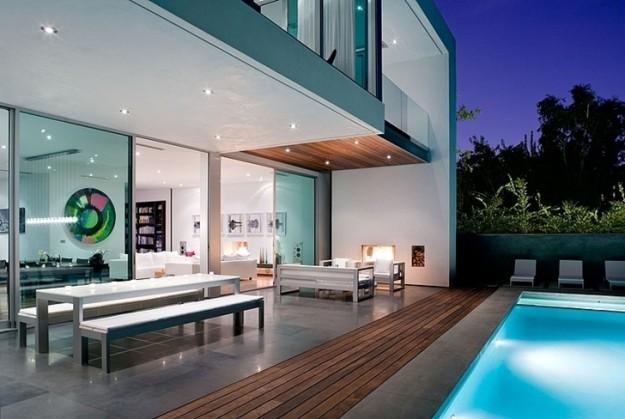 Magnifique maison minimaliste en californie for Maison minimaliste