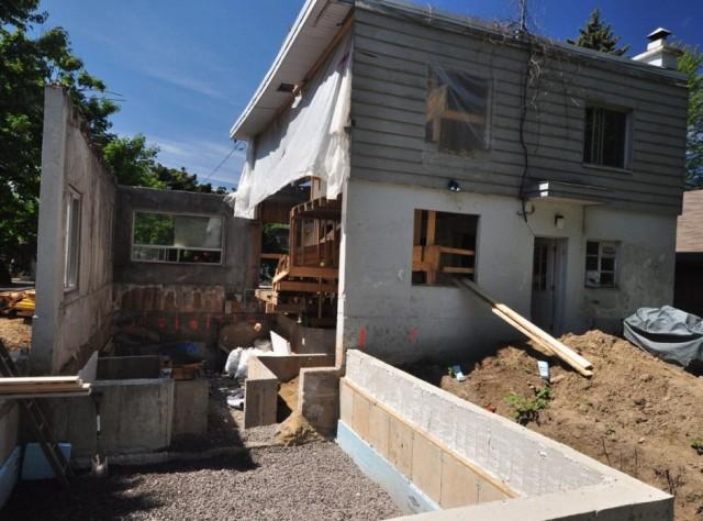 Transformation D 39 Une Maison Traditionnelle En Maison Como Ampliar Una  Casa De Campo