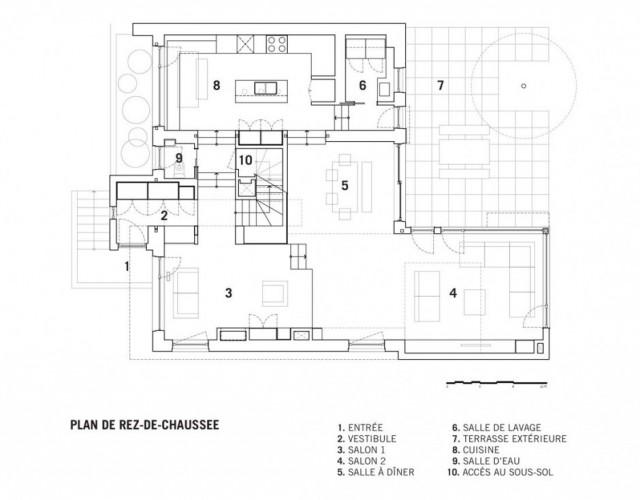 transformation d 39 une maison traditionnelle en maison contemporaine. Black Bedroom Furniture Sets. Home Design Ideas
