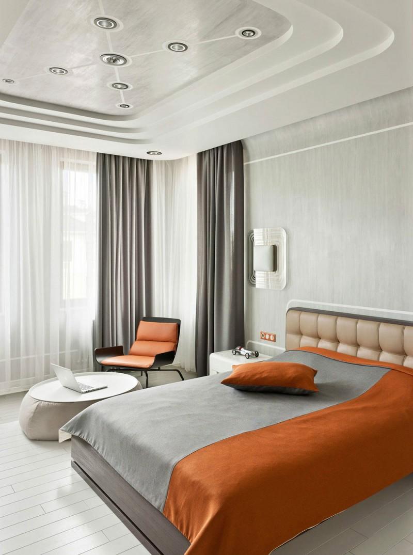 D coration retro futuriste de nikolay tsupikov for Chambre retro design