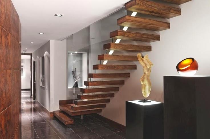 30 exemples d\'escaliers en bois pour maisons modernes