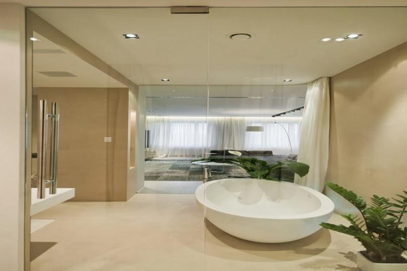 Design int rieur minimaliste d 39 un appartement moscou for Design d interieur appartement
