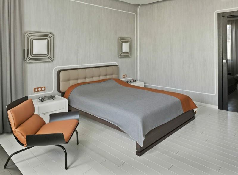 lit retro futuriste. Black Bedroom Furniture Sets. Home Design Ideas