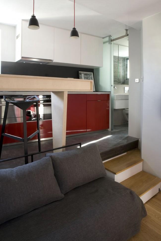 Optimiser l 39 espace d 39 un petit appartement for Petit appartement design