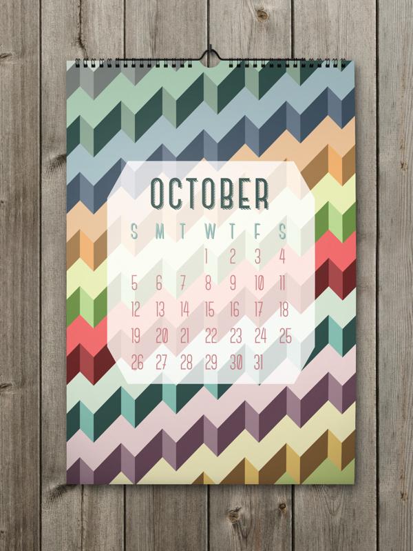 Calendrier design octobre2014 - Calendrier design ...