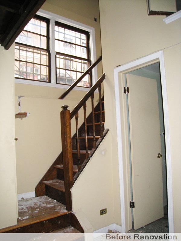 r novation d 39 un loft manhattan. Black Bedroom Furniture Sets. Home Design Ideas