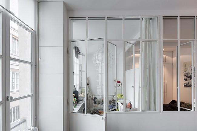 R novation d 39 un ancien atelier en appartement for Fenetre style loft