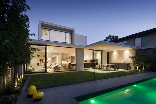 Maison Contemporaine Avec De Magnifiques Interieurs
