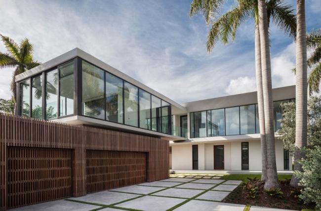 Magnifique maison contemporaine situ e miami en floride for Miami home design usa