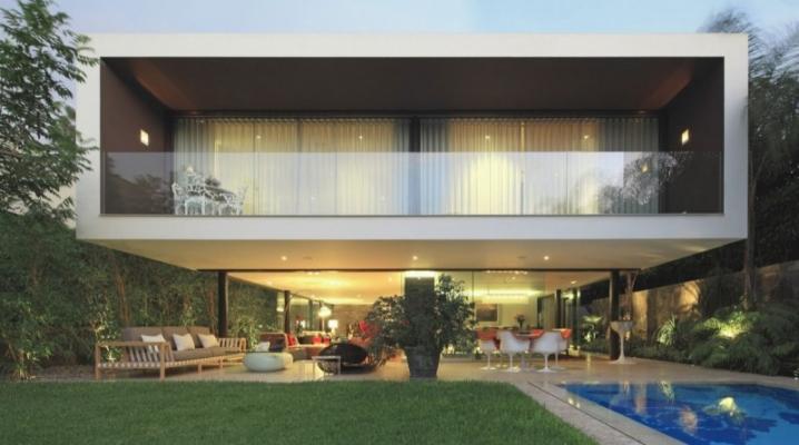 R sidence priv e contemporaine con ue par metropolis - Architecture contemporaine residence parks ...