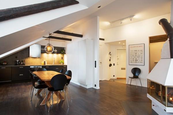 Appartement scandinave mansard - Appartement design scandinave emmahos ...