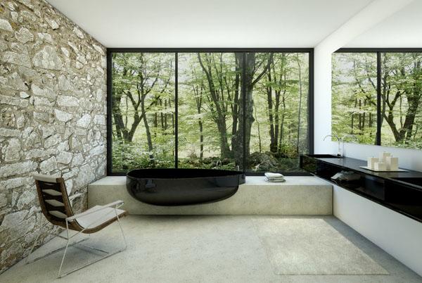 baignoire-noire-design
