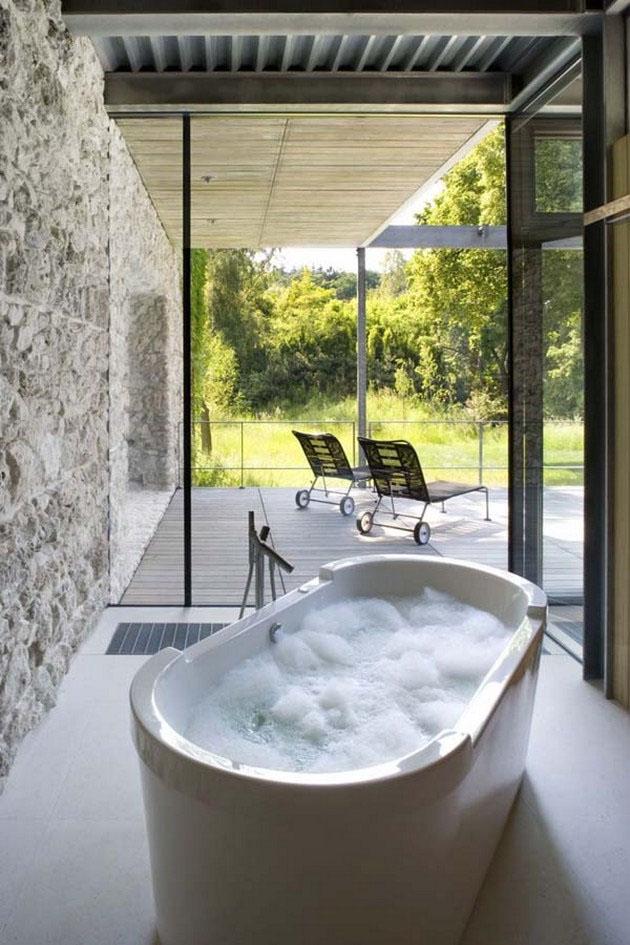 60 id es pour am nager et d corer une salle de bains for Decorer une salle de bain blanche