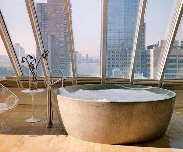 baignoire-ronde-design