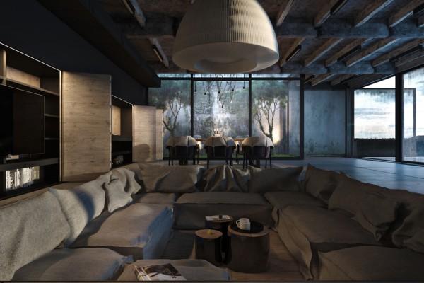 decoration maison style industriel 10. Black Bedroom Furniture Sets. Home Design Ideas