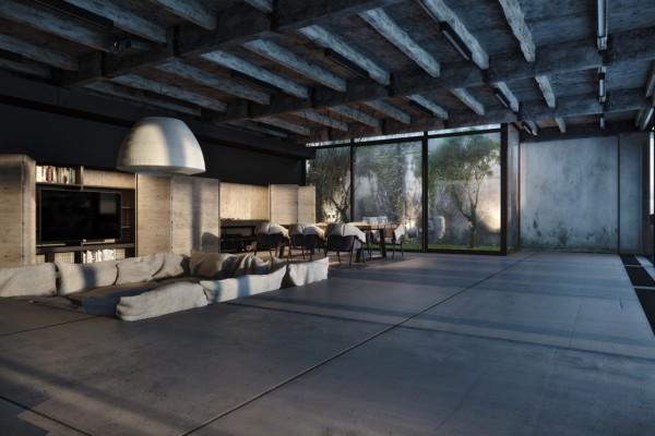 decoration maison style industriel 18. Black Bedroom Furniture Sets. Home Design Ideas