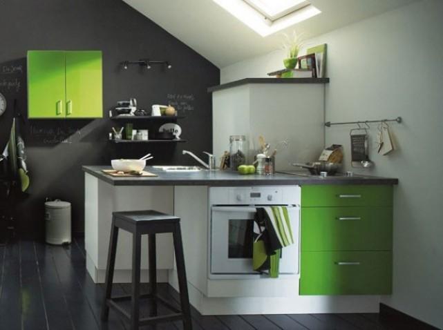 Decoration petite cuisine 20 for Amenager une petite cuisine