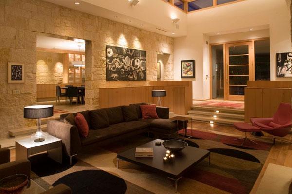 eclairage pieces maison 02. Black Bedroom Furniture Sets. Home Design Ideas