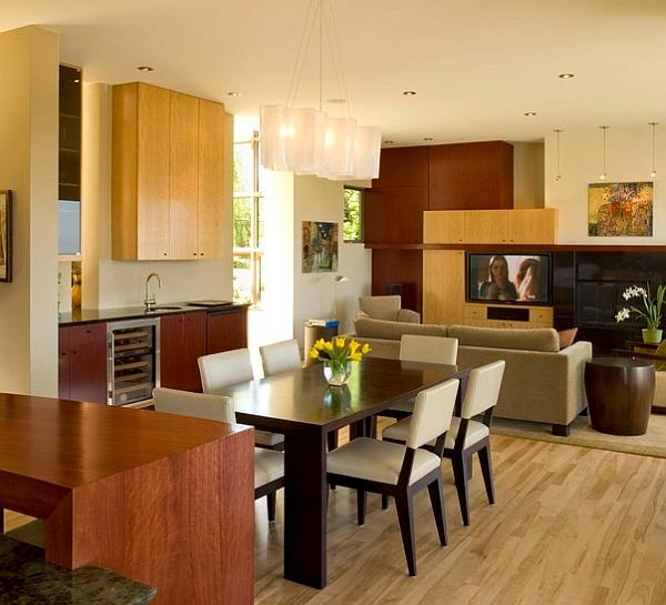 id es pour am nager votre salle manger dans un petit espace. Black Bedroom Furniture Sets. Home Design Ideas