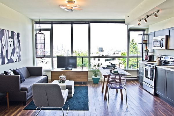 idee decoration salle manger petit salon. Black Bedroom Furniture Sets. Home Design Ideas